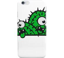 comic cartoon face funny ground little cactus 2 kakten sweet cute desert grow iPhone Case/Skin