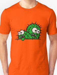 comic cartoon face funny ground little cactus 2 kakten sweet cute desert grow Unisex T-Shirt
