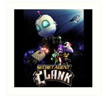 Ratchet & Clank 2016 movie animation Art Print