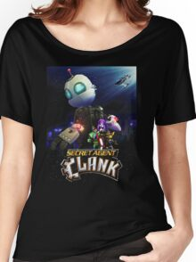 Ratchet & Clank 2016 movie animation Women's Relaxed Fit T-Shirt