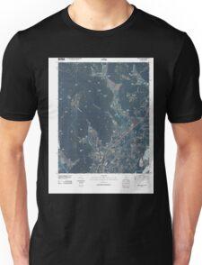 USGS TOPO Map Alabama AL Doran Cove 20100510 TM Unisex T-Shirt