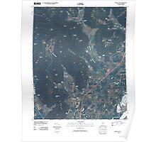 USGS TOPO Map Alabama AL Doran Cove 20100510 TM Poster