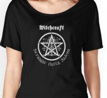 Witchcraft - Straight Outta Salem  Women's Relaxed Fit T-Shirt