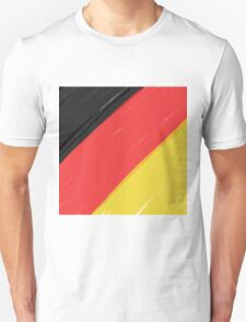 Black, Red and Yellow Unisex T-Shirt