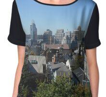 Cincinnati City View Chiffon Top