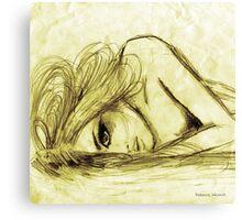 #13 Canvas Print