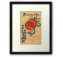 Artist Posters Fettered yet free a study in heredity by Annie S Swan Hurd 0580 Framed Print