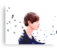 young forever Tae Canvas Print