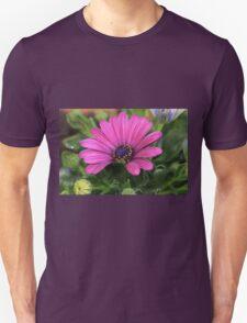 Purple bloom macro Unisex T-Shirt