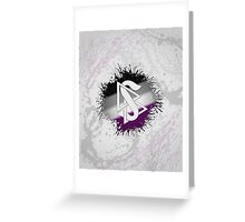 Scientology Symbol Asexual Greeting Card