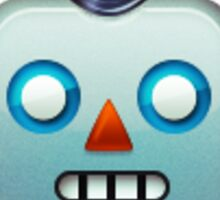 Robot face emoji Sticker