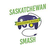 Saskatchewan Smash Photographic Print