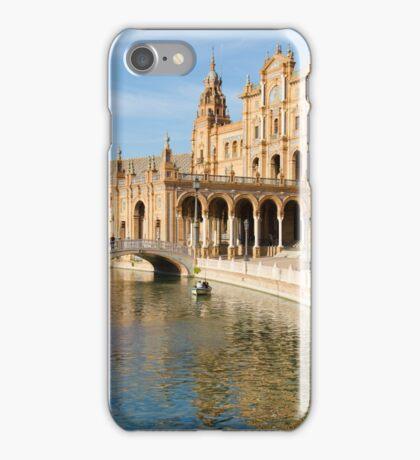 Plaza de Espana river - Seville  iPhone Case/Skin