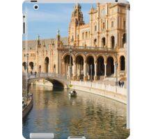 Plaza de Espana river - Seville  iPad Case/Skin