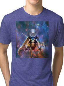 Astronaut Disintegration Tri-blend T-Shirt