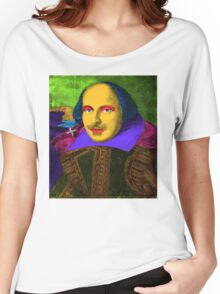 William Shakespeare Pop Art Women's Relaxed Fit T-Shirt
