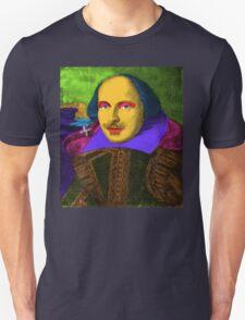 William Shakespeare Pop Art Unisex T-Shirt