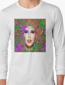Flowers in your Hair Long Sleeve T-Shirt