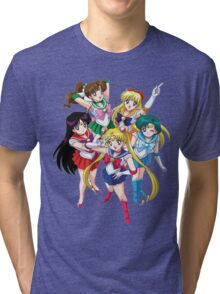 sailormoon Tri-blend T-Shirt