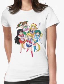sailormoon Womens Fitted T-Shirt