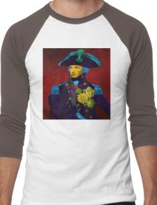 Horatio Nelson Pop Art Men's Baseball ¾ T-Shirt