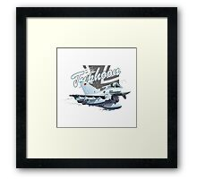 Cartoon Fighter Framed Print