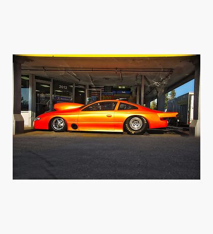 Camaro NHRA Pro Mod Drag Car Photographic Print