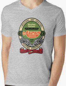Aspen Extra Strong Mens V-Neck T-Shirt
