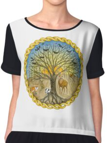 Creatures of the Woods Chiffon Top