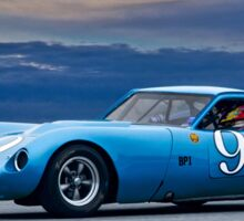 1964 Chevrolet Kellison Vintage GT Racecar Sticker