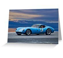 1964 Chevrolet Kellison Vintage GT Racecar Greeting Card