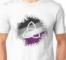 Pagan Triquetra Asexual Unisex T-Shirt