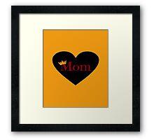 Queen Mom Framed Print
