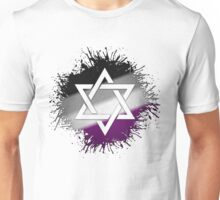 Asexual Pride Star of David Unisex T-Shirt