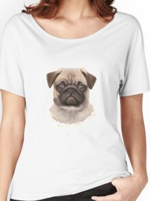 Pug Dog Women's Relaxed Fit T-Shirt