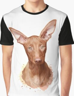 Pharaoh Hound Dog Graphic T-Shirt