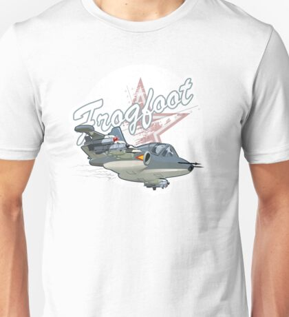 Cartoon Attack Warplane Unisex T-Shirt