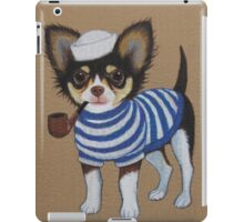 Sailor Chihuahua iPad Case/Skin
