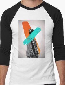 Paint Men's Baseball ¾ T-Shirt