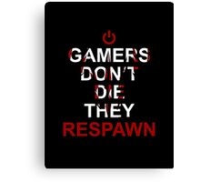 GAMER Canvas Print