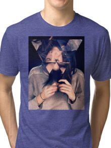 Kaleidoscope Eyes Tri-blend T-Shirt