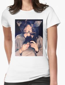 Kaleidoscope Eyes Womens Fitted T-Shirt