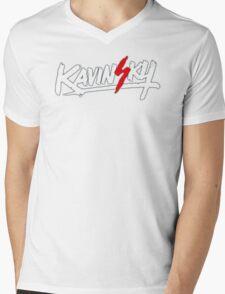 Kavinsky Mens V-Neck T-Shirt