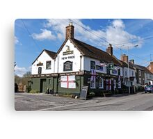 The Yew Tree Inn, Warminster, Wiltshire, UK Canvas Print