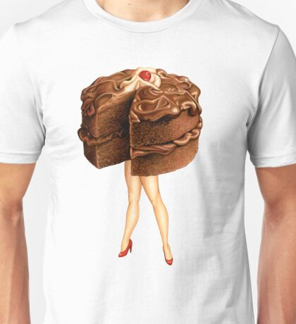Hot Cakes - Chocolate Ganache Unisex T-Shirt