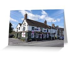 The Yew Tree Inn, Warminster, Wiltshire, UK Greeting Card