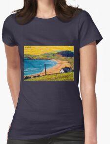 Long Strand, West Cork, Ireland Womens Fitted T-Shirt