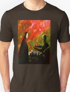 Playing chess with Death Unisex T-Shirt