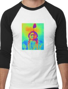 SITTING BULL Men's Baseball ¾ T-Shirt