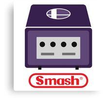 Nintendo Smash Cube Canvas Print